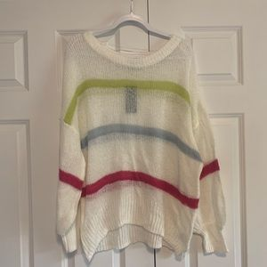 Wild Fable Colorful Striped Sweater - Sz XL